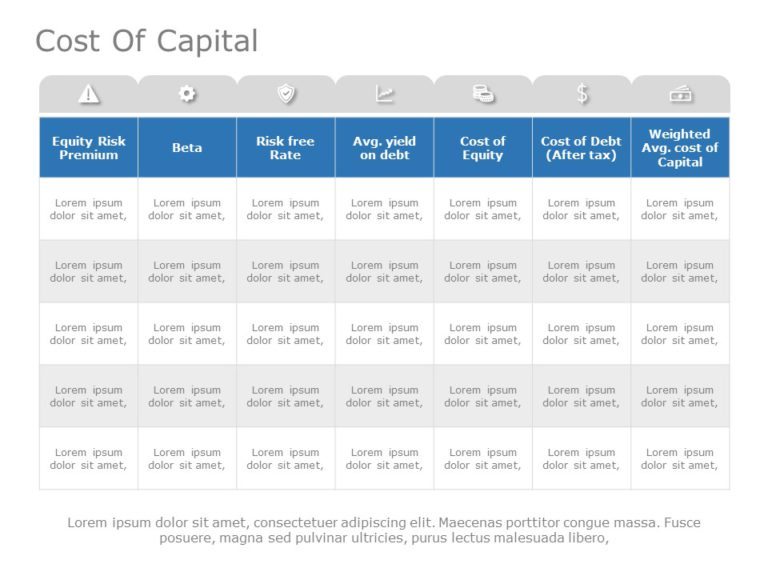 Cost Of Capital 01