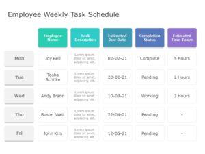 Employee Tasks 01