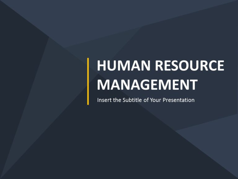 Human Resource Cover Page 05