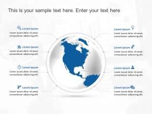 World Globe PowerPoint Template