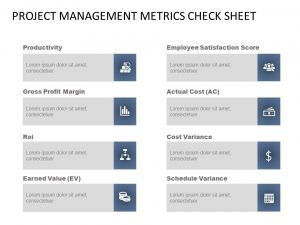 Project Management Metrics Template