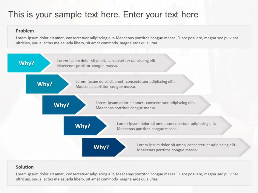 5 Why Business Analysis Template