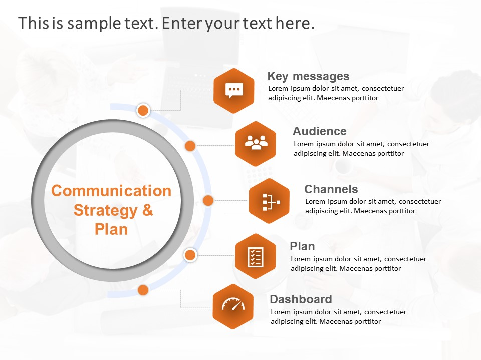 Communication Plan Powerpoint Template Communication Templates Slideuplift