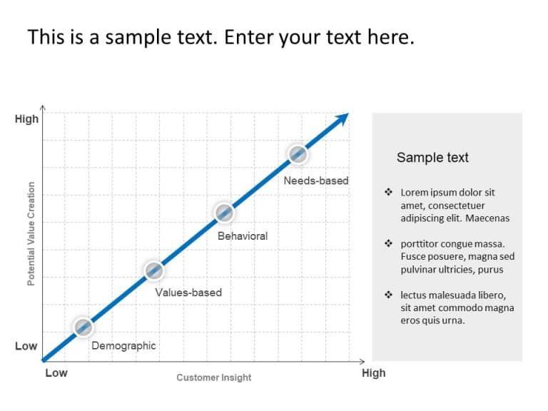 Customer Segmentation Matrix Template