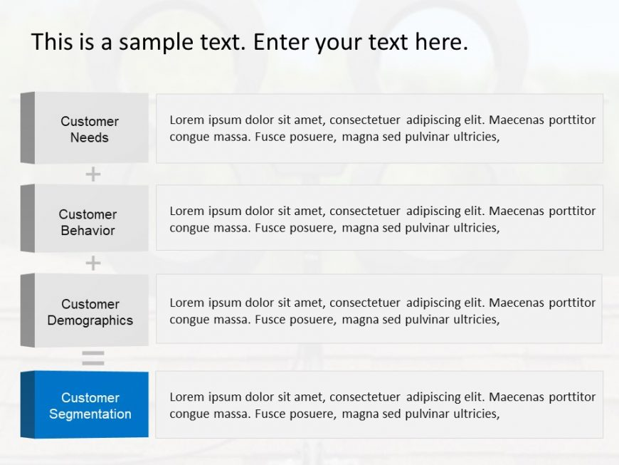 Customer Segmentation PPT Template