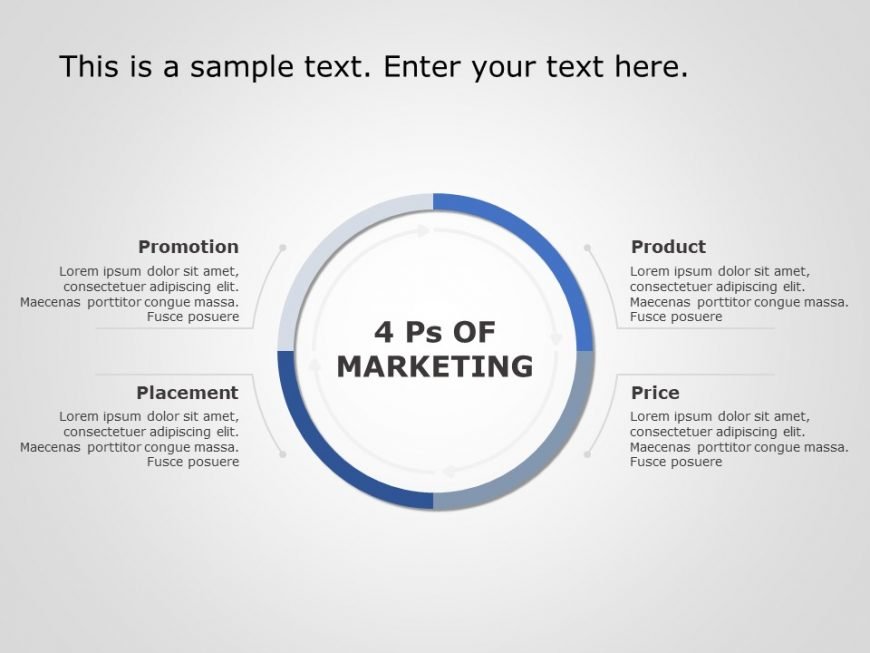 Marketing Mix PowerPoint Template