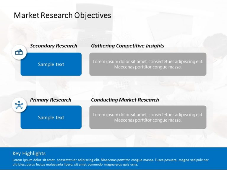 Market Research Objectives Template