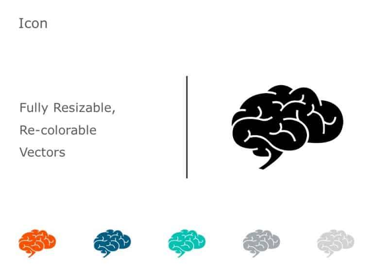 Brain Icon PowerPoint 01