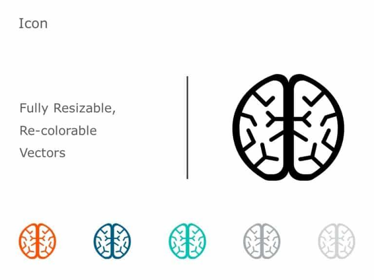Brain Icon PowerPoint 05