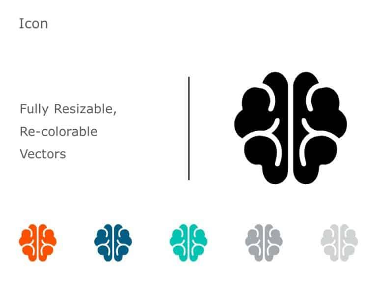 Brain Icon PowerPoint 06