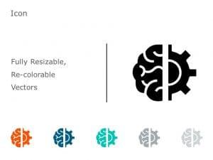 Brain Icon PowerPoint 07