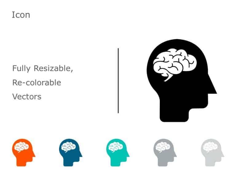 Brain Icon PowerPoint 09