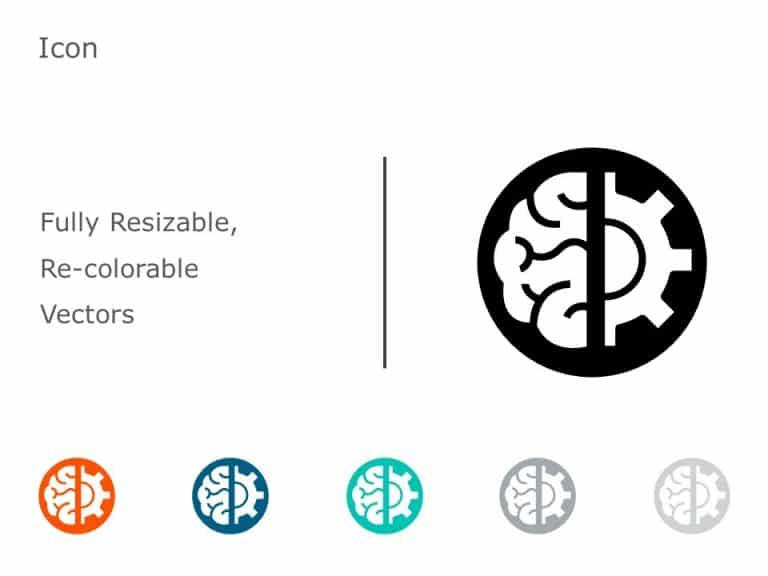 Brain Icon PowerPoint 11