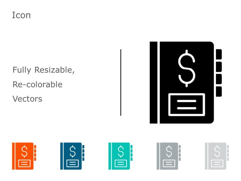 Finance Icon PowerPoint 10