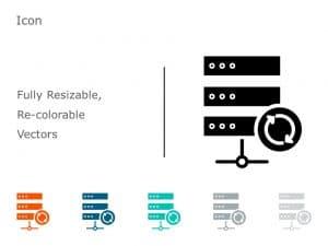 Data Icon PowerPoint 09