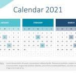 2021 Calendar PowerPoint Template