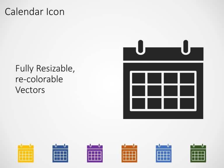 Calendar PowerPoint Icon