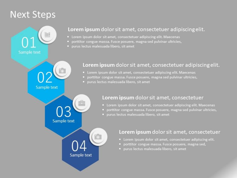 Next Steps PowerPoint Template