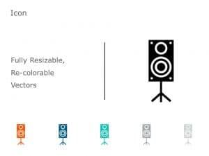 Speakers Icon Vector 2
