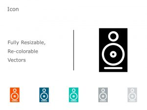 Speakers Icon Vector 4