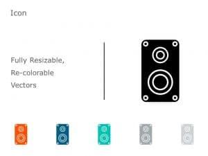 Speakers Icon Vector 5