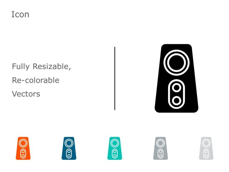 Speakers Icon Vector 6