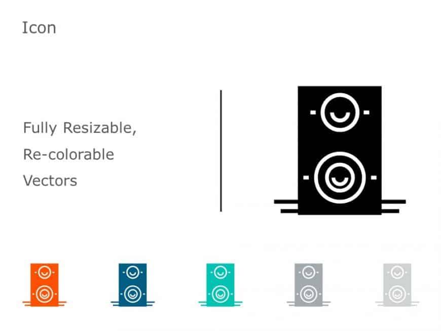 Speakers Icon Vector 8