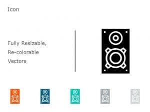 Speakers Icon Vector 10