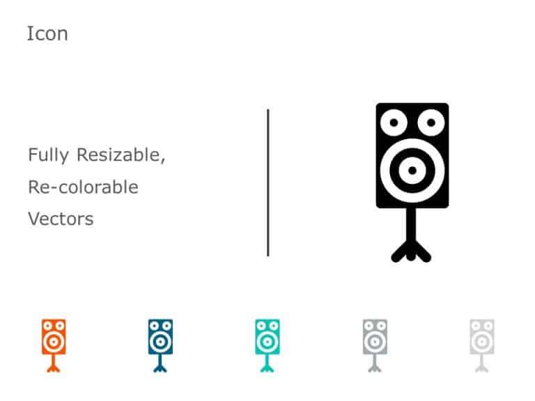 Speakers Icon Vector 11