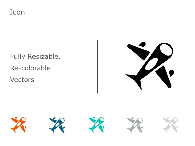 Airplane Icon 1