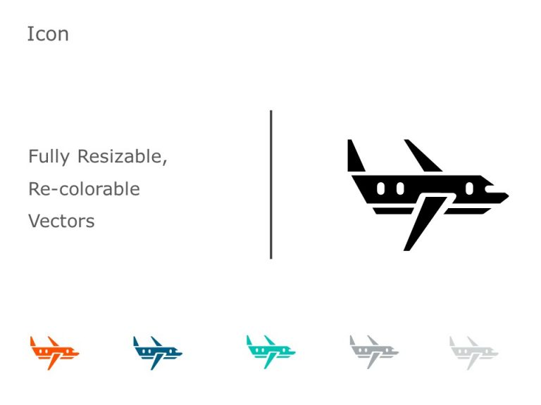 Airplane Icon 2