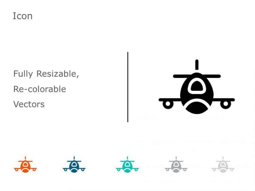 Airplane Icon 3