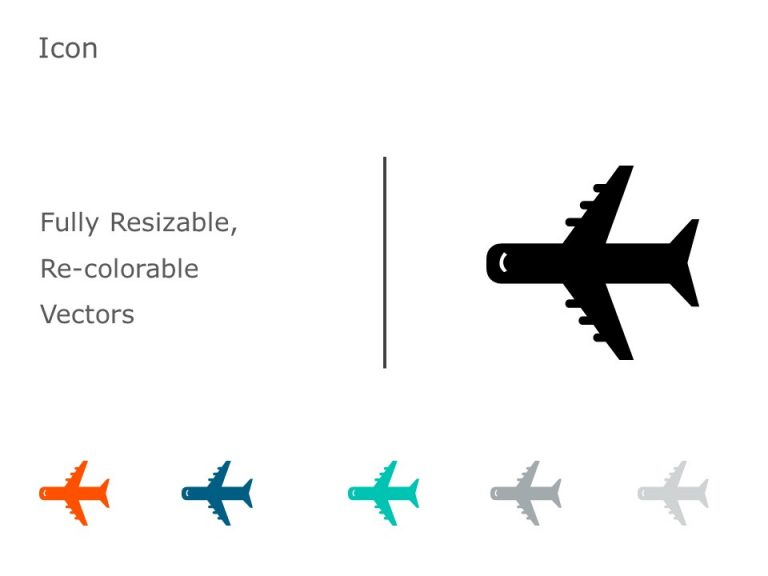 Airplane Icon 4