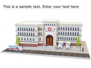 Hospital 3D Model Template