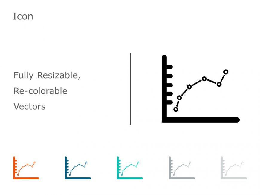 Charts and Graphs Icons 4