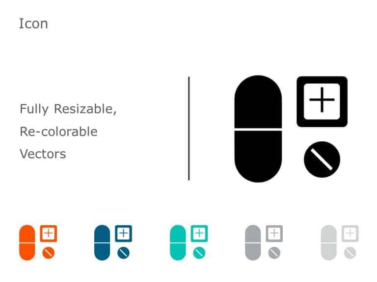 Capsule Medicine Icon 10