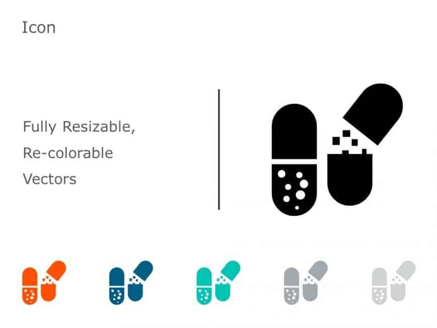 Capsule Medicine Icon