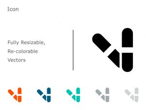 Capsule Medicine Icon 3