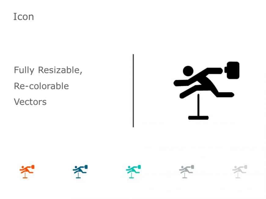Hurdle Success Icon 1