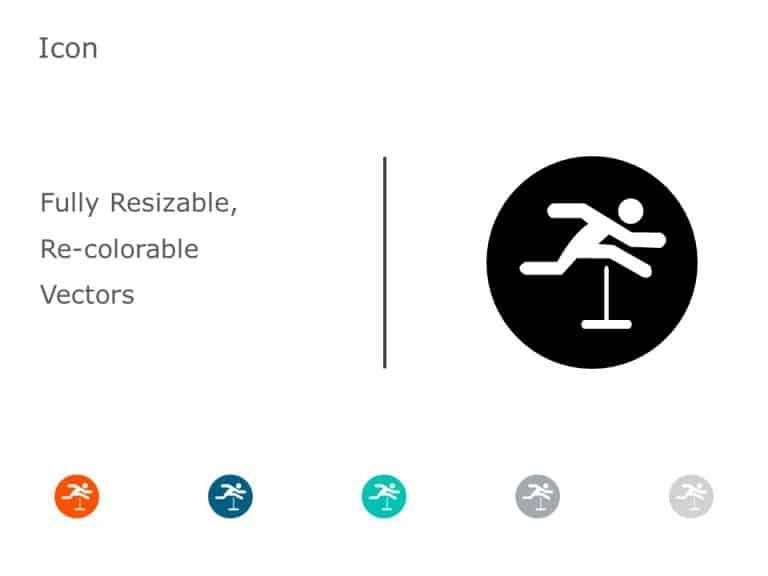 Hurdle Success Icon 2