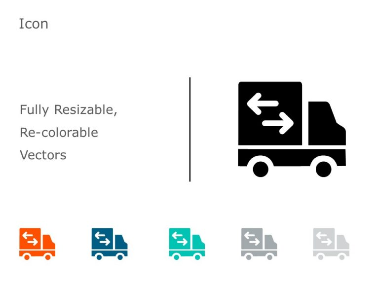 Truck Transportation Icons 1