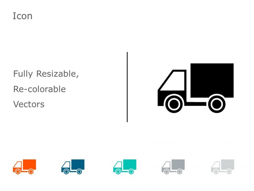 Truck Transportation Icons 2