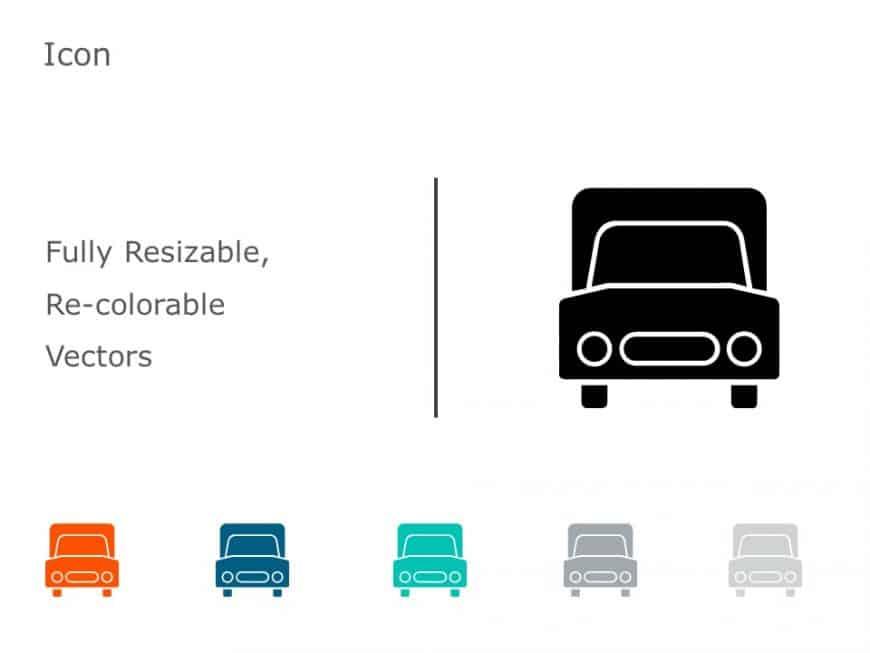 Truck Transportation Icons 4