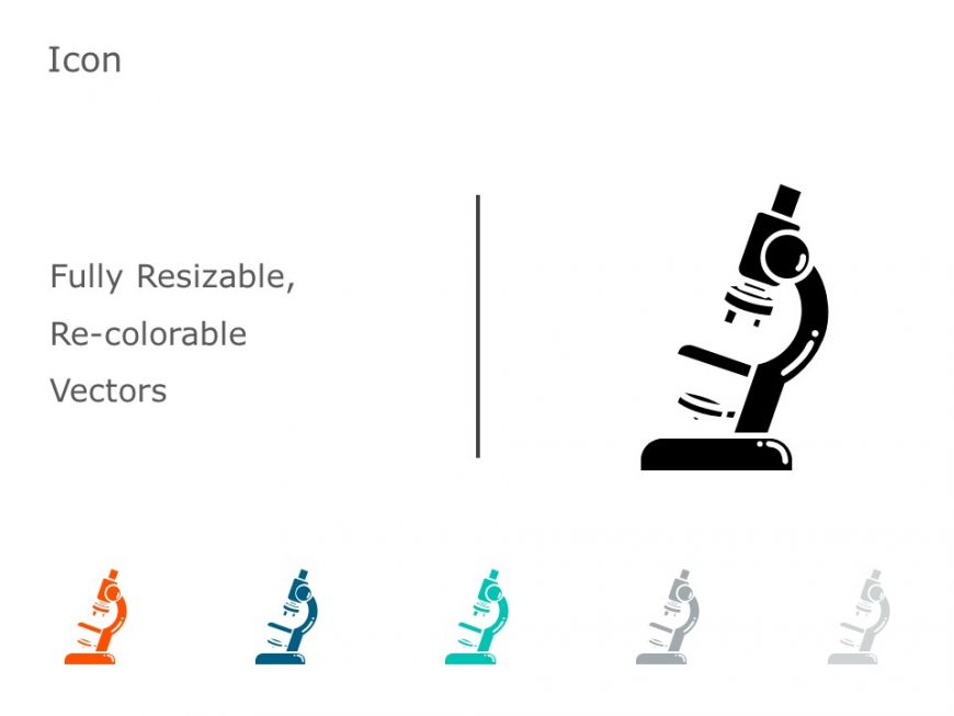 Microscope PowerPoint Icon 8