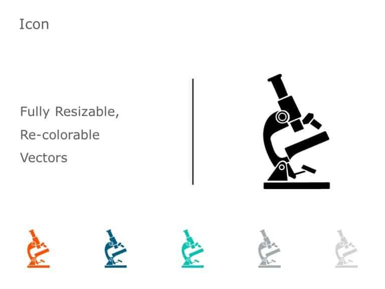 Microscope PowerPoint Icon 9
