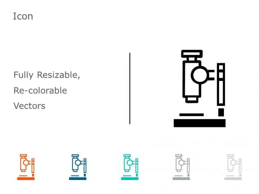 Microscope PowerPoint Icon 11