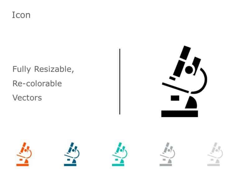 Microscope PowerPoint Icon 17