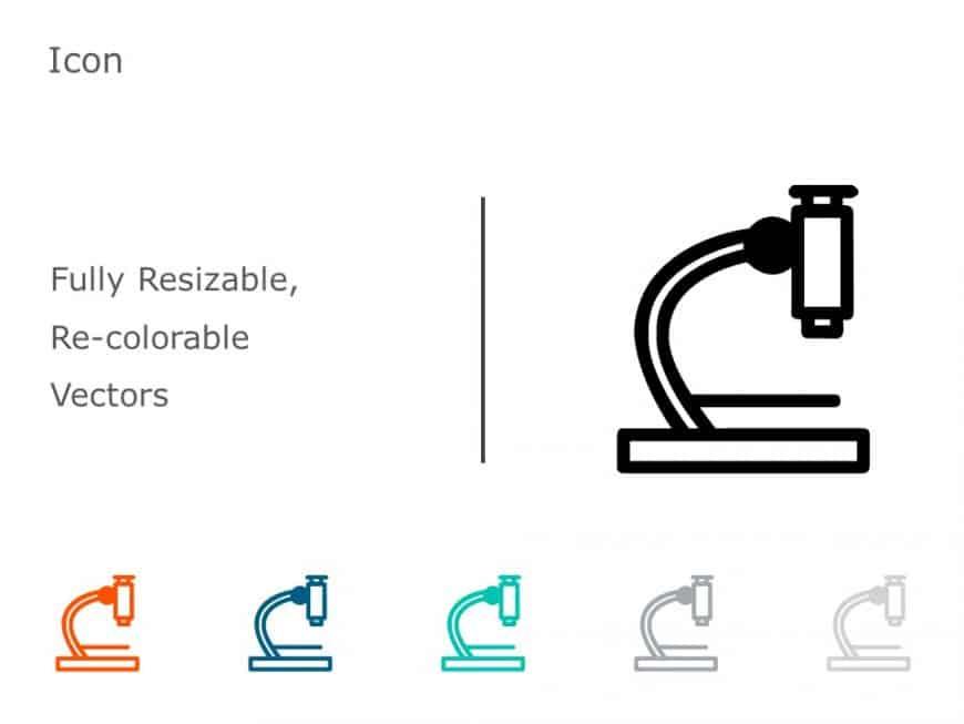 Microscope PowerPoint Icon 18