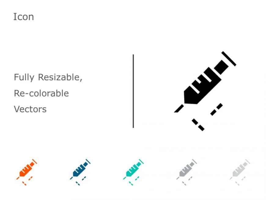Syringe PowerPoint Icon 20
