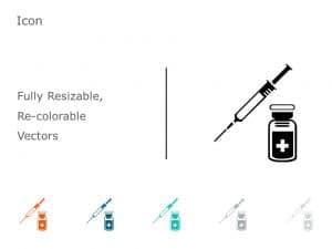 Syringe PowerPoint Icon 21